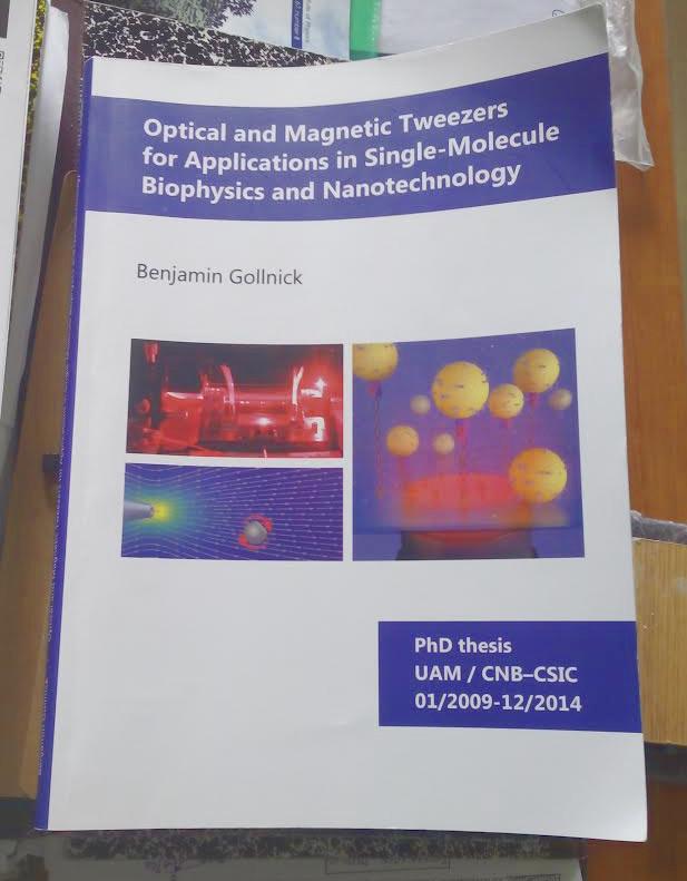 Thesis on nanoscience and nanotechnology